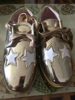 [PL] Stella McCartney design shoes size 26 gold colour