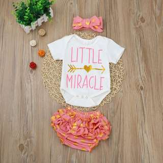 Little Miracle Romper Set