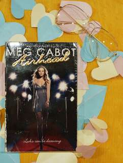 Airhead by Meg Cabot (with Plastic Cover)