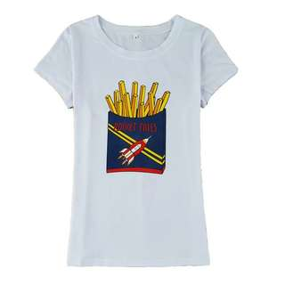 Oversized Rocket Fries White Top