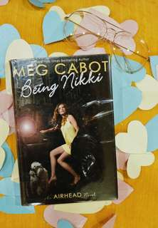 Being Nikki by Meg Cabot (Hard Bound with Plastic Cover)