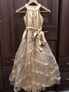 Gold Gown for Kids