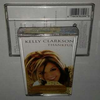 Kaset / Cassette KELLY CLARKSON - Thankful