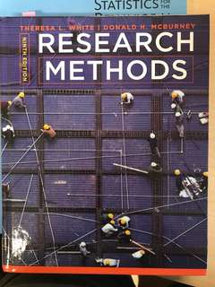 Research Methods 9E White and McBurney