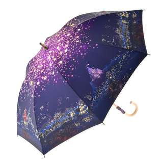Japan Disneystore Disney Store Rapunzel Tangled Fantasy Night Umbrella