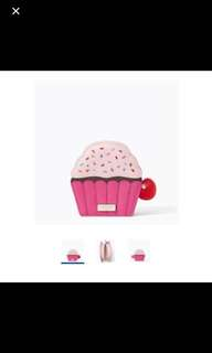 Kate Spade - Take The Cake Cupcake Coin Purse (100% Authentic)