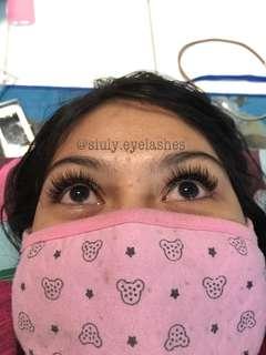 Extension eyelash