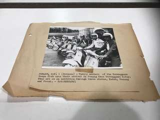 Vintage Vespa Photograph