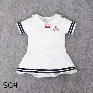 Sailor Baby Costume Romper - SC4