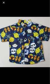 Baby boy starwars kid infant toddler shirt top