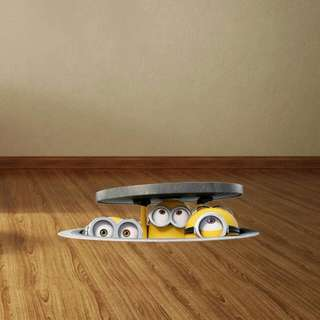 Wallsticker Wallpaper Wall Sticker Minion 3D
