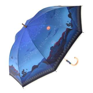 Japan Disneystore Disney Store Aladdin Fantasy Night Umbrella