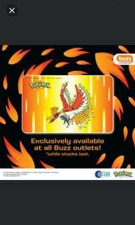 Pokemon ho oh ezlink card