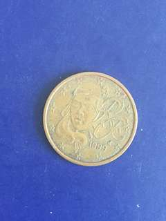 Euro 5 cent Year 1999, Vf