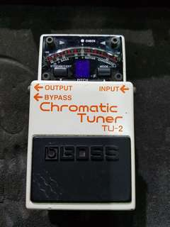 BOSS Tuner Pedal