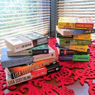 LISA SCOTTOLINE Hardcover & Paperback Novels x 12