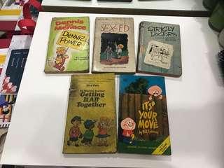 Five Vintage Comics