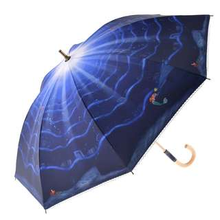 Japan Disneystore Disney Store Ariel the Little Mermaid Fantasy Night Umbrella