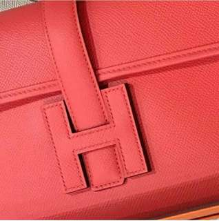 Hermes Jige 29 In Rose Jaipur