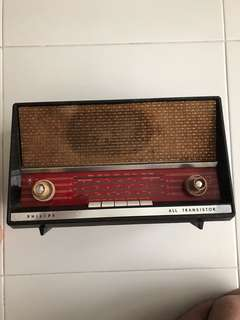 Old radio (no working)for display