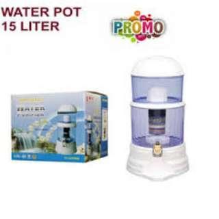 Mineral pot 15 16 liter Bio energy - alat penyaringan air minum