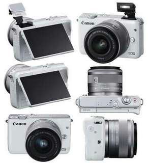 Kredit Camera Mirrorless Canon m10, DP hanya 700rbu saja