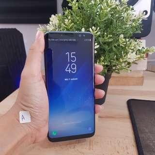 Samsung S8 DualSim Resmi SEIN fullset masi garansi mulus sangaat