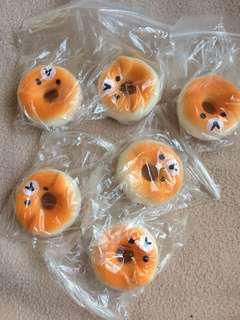 Mini Donut Bear Slow Rising Squishy