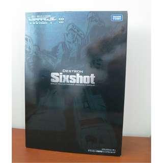 Transformers Takara Sixshot G1 Destron Encore 23