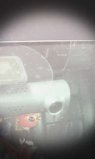 Front car cam with wifi