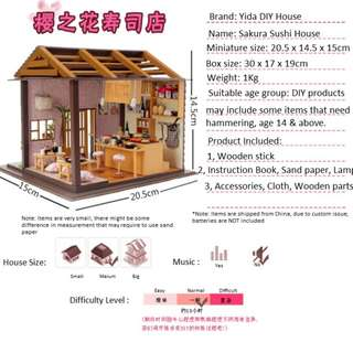 DIY Miniature Sushi House