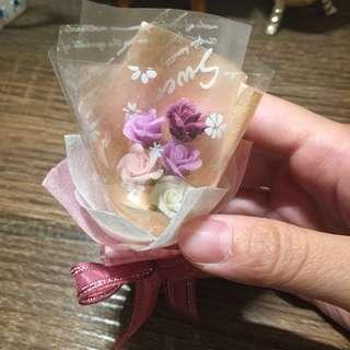 🚚 手工黏土花束