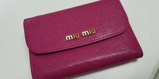 Authentic MiuMiu Purse