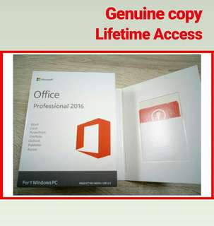 Microsoft Office 2016 for 1 PC