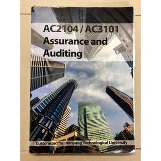 AC2104 / AC3101 Assurance and Auditing