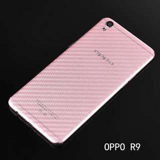 Oppo series Transparent carbon fibre back protector