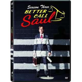 Better Call Saul - Season 3 DVD