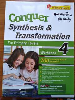P4 English Conquer Synthesis & Transformation