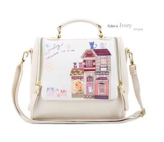 IN STOCK : BDY8122 Sling Bag (Ivory)