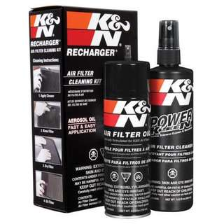 (ReadyStocks) K&N Recharger Air Filter Cleaning Kit