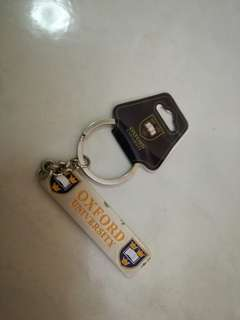 Oxford University Keychain