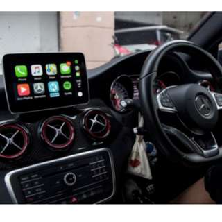 Mercedes Benz Apple CarPlay/ Android Auto