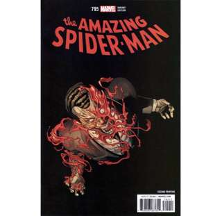 "the AMAZING SPIDER-MAN #795 (2018) ""Threat Level Red"" Variant"
