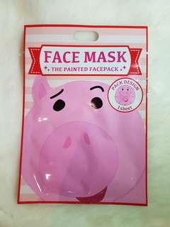 Mr. Piggy Face Mask