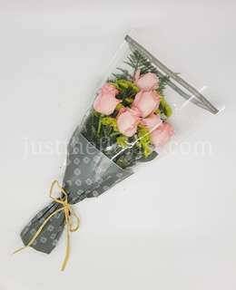 Fresh pink roses Mother's Day Self collection