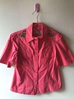 Kemeja Fashion Pink