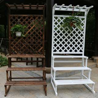 3 Step Plant Stand with hanging spot