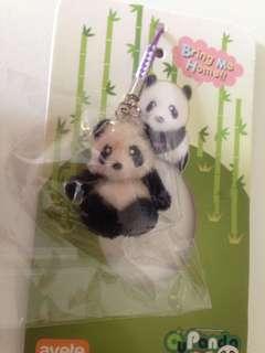 Panda handphone/ bag strap