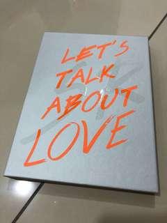 Seungri Let's talk about love Album