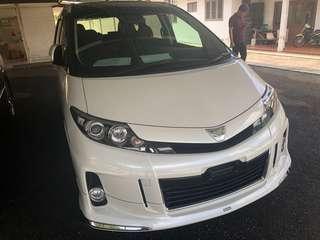 Toyota Estima Premium Aeras Unreg 2014 Super Full Spec